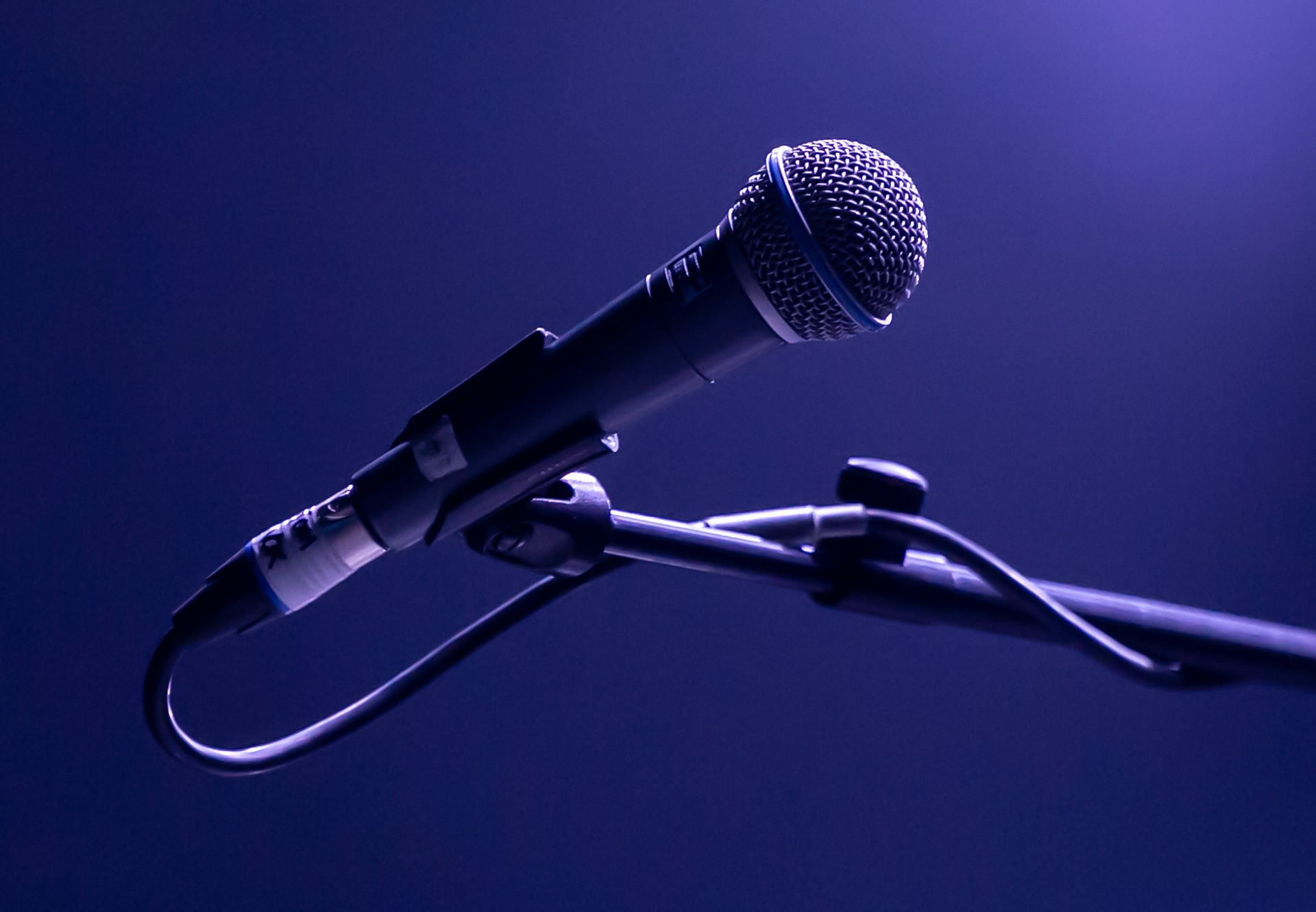 micro pour chanter